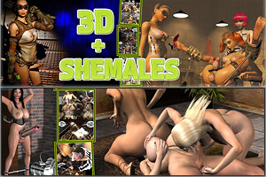 3D Shemales - High Quality Content