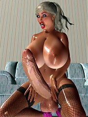 fat dickgirls 3d pin-up